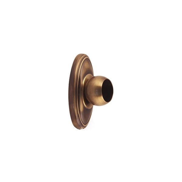 Shop Alno A8046 Shower Curtain Rod Flange Set From The Classic Traditional Collection