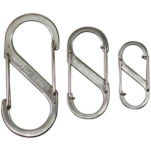 Nite ize s-biner 3 pack stainless sb234-03-11