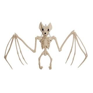 "Seasons Z28280 Halloween Bat Skeleton, White, 12.5"" H"