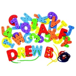 Wonderfoam Lacing Letters and Numbers Set