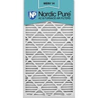Nordic Pure 12x30x1 Pleated MERV 14 AC Furnace Air Filters Qty 6