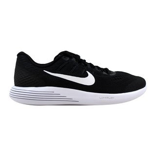 0ec995a8e2e6 Shop Nike Men s Lunarglide 8 Black White-Anthracite 843725-001 - On Sale -  Free Shipping Today - Overstock - 21893741