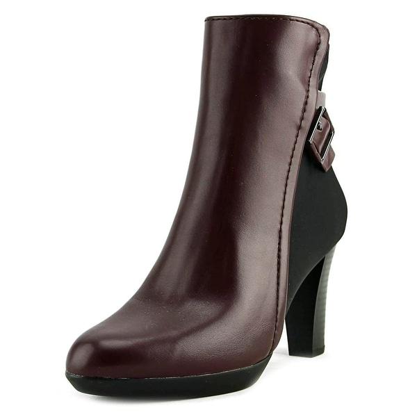 Alfani Velvett Malbec/Black Boots