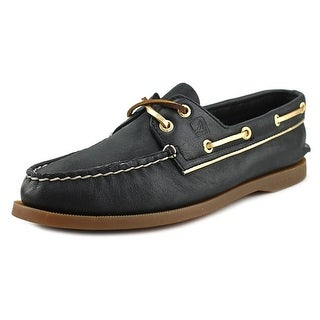 Sperry Top Sider A/O Weather Worn Moc Toe Leather Boat Shoe