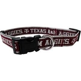 Collegiate Texas A&M Aggies Pet Collar