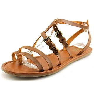 Mia DeeDee Women Open Toe Synthetic Gladiator Sandal