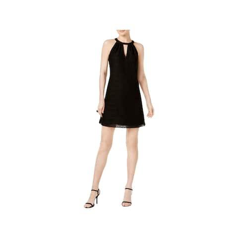 Jessica Simpson Womens Party Dress Halter Mini