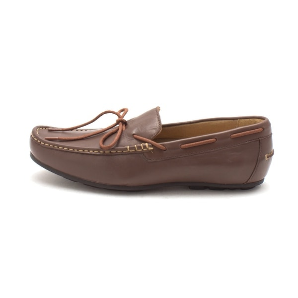 2fc5bcd0745 Cole Haan Mens Spring Ftwr Closed Toe Boat Shoes Brown Size