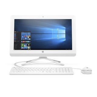 "Manufacturer Refurbished - HP 22-B016 21.5"" AIO Desktop Intel Pentium J3710 1.6GHz 4GB 1TB WiFi BT Win10"