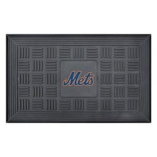 New York Mets Medallion Door Mat