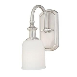 "Vaxcel Lighting W0011 Elliot 1 Light 11-1/4"" Tall Bathroom Sconce"