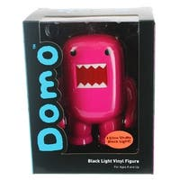 "Domo 4"" Vinyl Figure: Black Light Purple - multi"