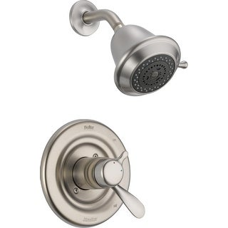 Delta T17230  Classic Monitor 17 Series Dual Function Pressure Balanced Shower Trim Package with Touch Clean Shower Head and
