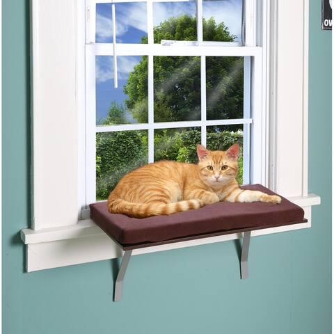 Deluxe Cat Window Perch - medium