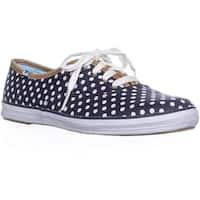 Keds Champion Dot Fashion Sneakers, Navy/White