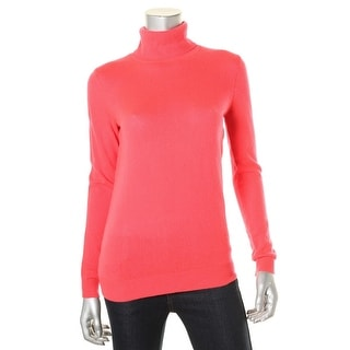 Private Label Womens Cashmere Long Sleeves Turtleneck Sweater - S