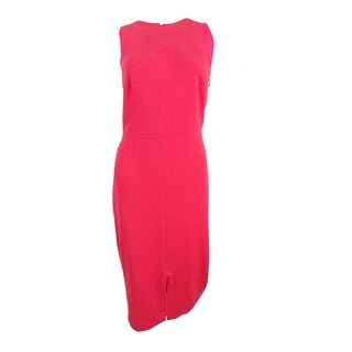 JAX Women's Halter-Neck Midi Dress - Coral