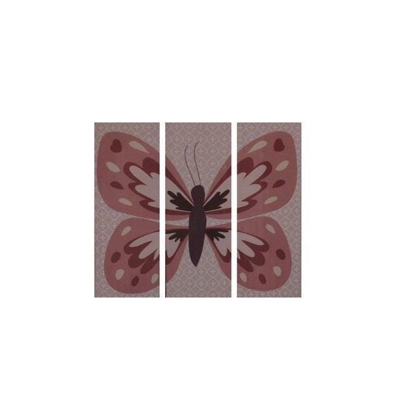 CoCaLo Baby Emilia Butterfly Wall Decor Canvas Baby Girl