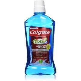 Colgate Advanced Pro-Shield Mouthwash, Peppermint Blast 33.8 oz