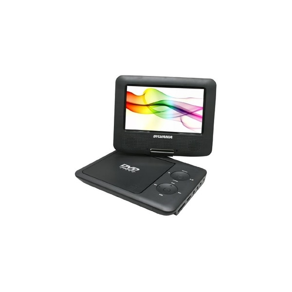 SYLVANIA CURSDVD7027BKB Sylvania SDVD7027-C 7-Inch Portable DVD Player