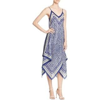 Nic+Zoe Womens Slip Dress Silk Handkerchief