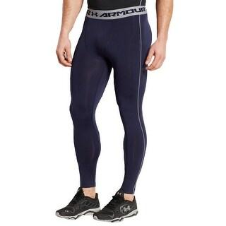 Under Armour Mens Athletic Leggings Comfort Waist Compression - M
