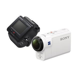SONY digital HD video camera recorder Action Cam HDR-AS300R (White)