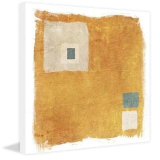 Marmont Hill Orange Square Irena Orlov Painting Print on Canvas