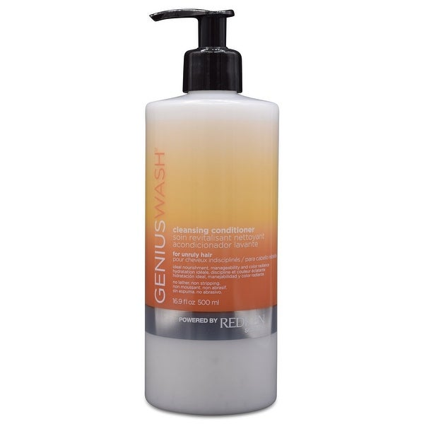 Redken Genius Wash Cleansing Conditioner for Unruly Hair 16.9 fl Oz