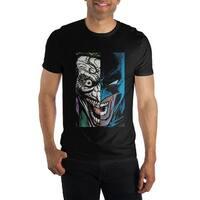 Batman Joker Half Face Mens T Shirt