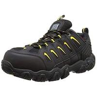 Skechers For Work Men's Blais Hiking Shoe, Black, 8.5 M Us
