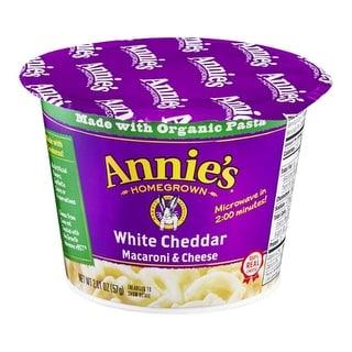 Annie's Homegrown - White Cheddar Mac & Cheese Cup ( 12 - 2.01 oz bags)