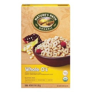 Nature's Path - Gluten Free Whole O's Cereal ( 3 - 11.5 oz boxes)