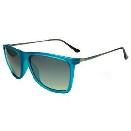 Blue Frame Black Shades Mens Sunglasses On Sale