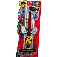 Teen Titans Go! Role Play Set: Robin's Mask, Staff & Buckle - gray
