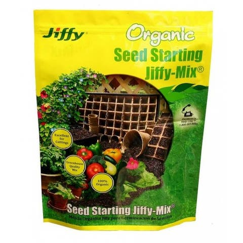 Jiffy G310/5088 Jiffy Mix Organic Seed Starting Soil, 10 Quart