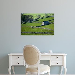 Easy Art Prints David Wall's 'Farmland' Premium Canvas Art