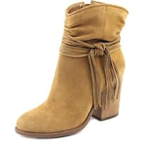 Jessica Simpson Sesley Women  Round Toe Suede Brown Ankle Boot