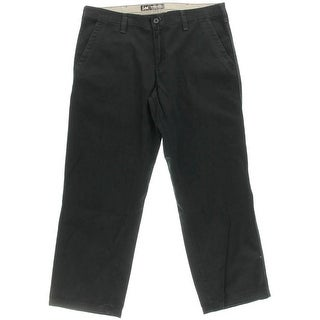 Lee Mens Twill Straight Fit Chino Pants - 42/30