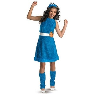Teen Girls Cookie Monster Costume