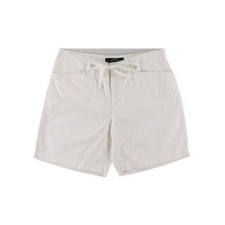 LRL Lauren Jeans Co. Womens Cotton Mid-Rise Casual Shorts