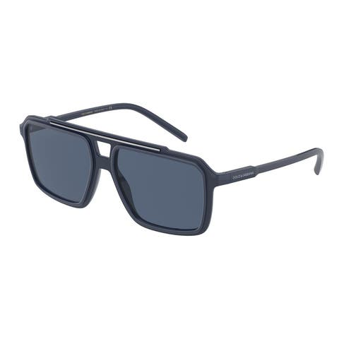 Dolce & Gabanna DG6147 329480 57 Blue Man Square Sunglasses