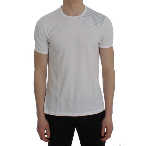 Ermanno Scervino Ermanno Scervino Gray Cotton Long Sleeve Beachwear T-shirt