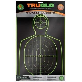 """Truglo 12 x 18 Tru See Splatter Target Handgun 6 Pack - Green Splatter Target Handgun"""
