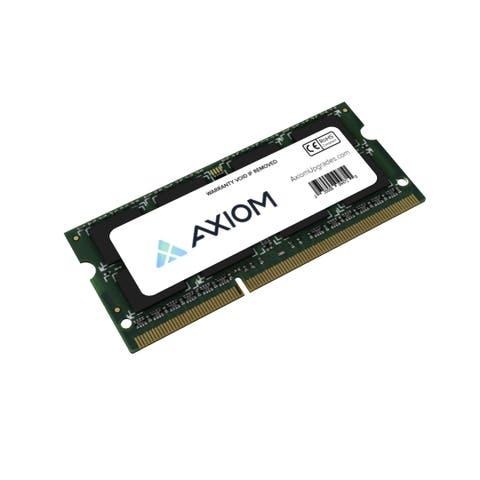 Axiom H6Y77AA-AX Axiom PC3L-12800 SODIMM 1600MHz 1.35v 8GB Low Voltage SODIMM - 8 GB - DDR3 SDRAM - 1600 MHz DDR3-1600/PC3-12800