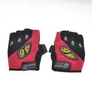 Adjustable Fitness Sports Half Finger Gloves Palm Anti-injured Guard
