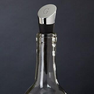 Highborn Personalized Wine Bottle Stopper, Chrome