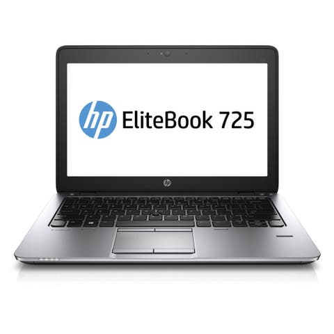 "HP Elitebook 725G2 12.5"" Laptop AMD A10-7350B 2.1G 8G RAM 480G SSD WIFI Windows 10 Home (Refurbished A Grade)"
