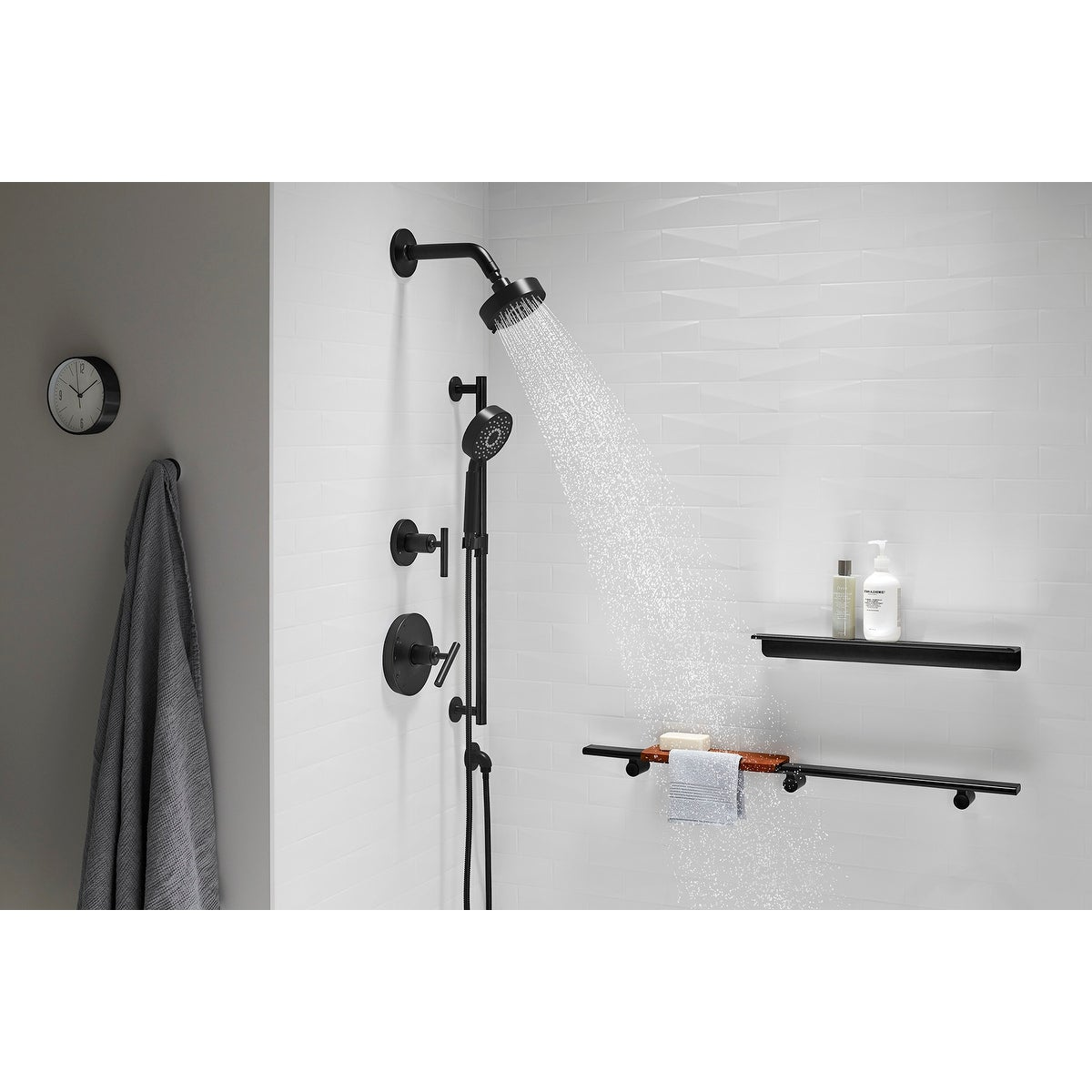 Kohler K 22166 Purist 2 5 Gpm Multi Function Hand Shower