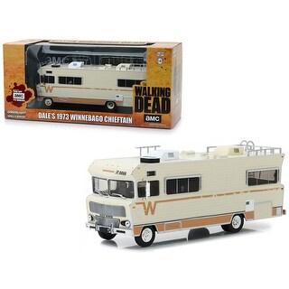Dale\'s 1973 Winnebago Chieftain RV 'The Walking Dead' (2010) TV Series 1/43 Diecast Model Car by Greenlight